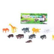 Набор животных в пакете 12 шт.12*11