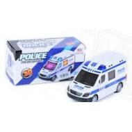Машина полиция н/б 3D свет и звук 17*9*7
