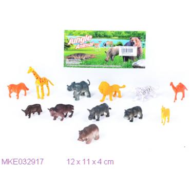 Набор животных в пакете 12*11