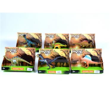 Динозавры в коробке  6 видов 19*14*7