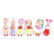 Куколка 6 видов 4,5*2,5*11,5