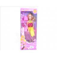 Кукла с набором платьев 33*14*5