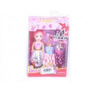 Кукла  с набором платьев 14*11*4