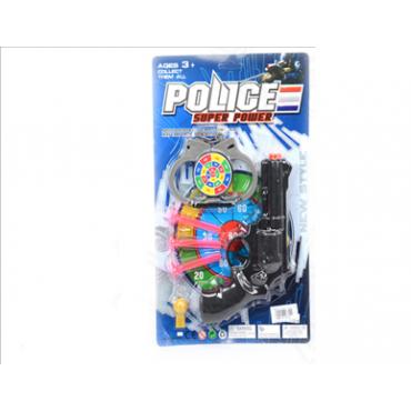 Набор полиции на листе 32*19*3