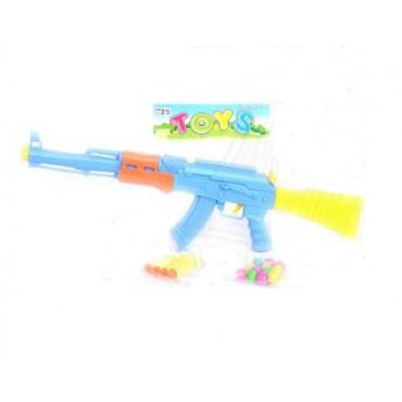 Автомат АК-47 мягкие пульки 46*12*4