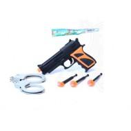 Пистолет с присосками 15*14*3