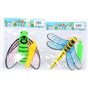 Стрекоза летающая 2 вида 12*12*1,5