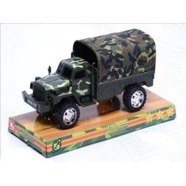 Военный грузовик свет +звук 22*10*9