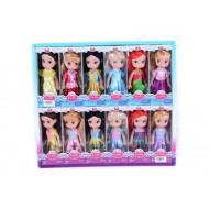 Кукла 12 видов в блоке 12шт. 17 см